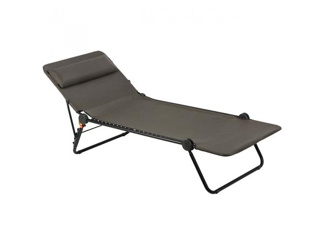 Lafuma Mobilier Sunside Chaise longue Batyline Duo, wood